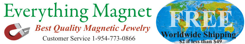 magnetic bracelets and magnetic jewelry for health and beauty from magnet giant