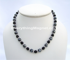 magnetic bead necklace